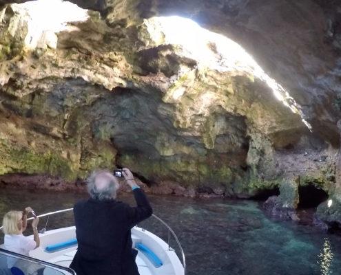 Visita alle grotte marine di Polignano a Mare