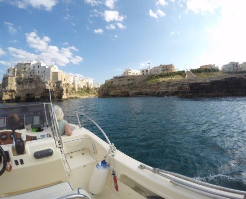 Servizio noleggio barche a Polignano a Mare